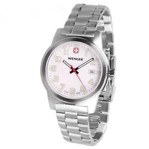 【送料無料】腕時計 ウェンガースイススチールフィールドカジュアルウォッチ