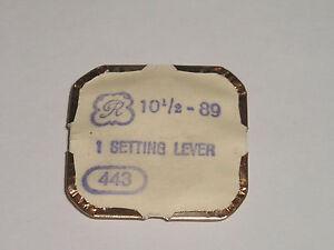 【送料無料】腕時計 パーツレバーvaljoux 89 and 69 part 443 setting lever tirette