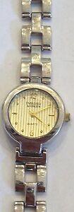 【送料無料】腕時計 シルバーゴールドストンlovely womens silver amp; gold tone embassy by gruen quartz watch