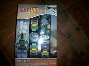 【送料無料】腕時計 レゴスターウォーズミニキッズノベルティウォッチlego watch star wars boba fett minifigure kids novelty gift water resistant