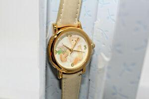 【送料無料】腕時計 アポンエイボンボックスベアウォッチ 2002 avon collectible cherished teddies bear watch in box av6