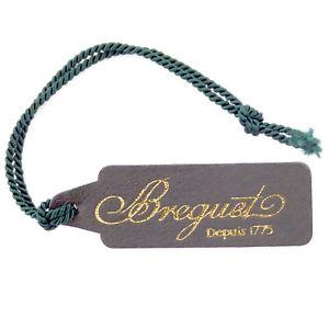 【送料無料】腕時計 ダークオリーブグリーンブレゲbreguet depuis 1975 dark olive green leather watch tag in great condition