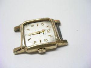 腕時計 ビンテージスイスメンズkマニュアルウォッチvintage benrus swiss dm 411 17 jewel mens 10k rgp hand wind watch