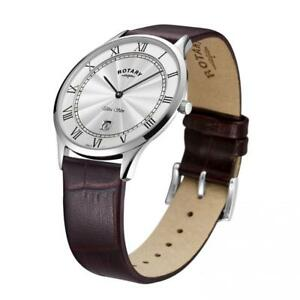 【送料無料】腕時計 ウルトラスリムウォッチロータリーgents rotary ultra slim watch gs0830001 rrp 13900 our 9995
