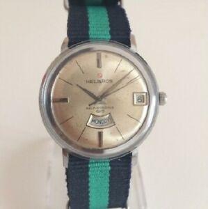 【送料無料】腕時計 ビンテージorologio watch helbros vintage automatic puw 1363