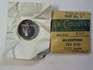 【送料無料】腕時計 ビンテージグレードメインスプリングnos vintage lecoultre grade 8 nr mainspring wbrace