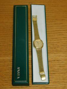 【送料無料】腕時計 アマラヴィンテージスイスクオーツレディゴールドvintage watch amara quartz suisse swiss made montre uhr lady gold doree or