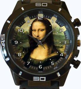 【送料無料】腕時計 レオナルドダヴィンチモナリザベストセラーmona lisa smile leonardo da vinci beautiful art wrist watch fast uk seller
