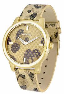 【送料無料】腕時計 パリノワールドーレブレスレットドールmoog paris montre femme avec cadran noir et dor, bracelet dor et noir