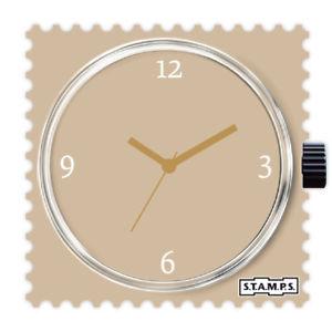 【送料無料】腕時計 スタンプラテstamps stamps uhr watch  soy latte