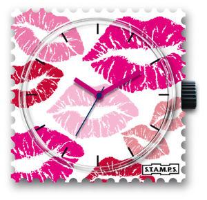 【送料無料】腕時計 スタンプstamps stamps uhr watch  million kisses