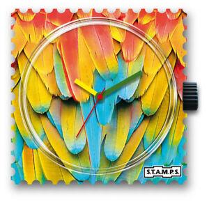 【送料無料】腕時計 スタンプオウムstamps stamps uhr watch  parrots feather