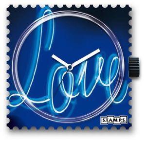 【送料無料】腕時計 スタンプstamps stamps uhr watch  dark love