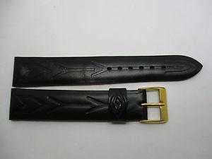 【送料無料】腕時計 ブレスレットデザインノワールダブルbracelet montre en cuir avec dessins geometrique noir double cuir t18