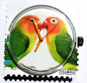【送料無料】腕時計 ##stamps uhr 034;love birds034;