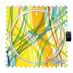 【送料無料】腕時計 スタンプstamps stamps uhr watch  colour strings