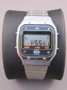【送料無料】腕時計 モンドデジタルクロノグラフアラームチャイムmondo ahron lcd digital chronograph alarm chime nos