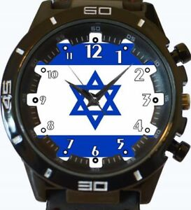【送料無料】腕時計 イスラエルスポーツフラグflag of israel gt series sports wrist watch