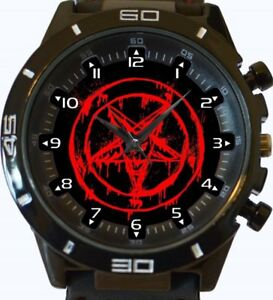 【送料無料】腕時計 サタンスポーツベストセラーbleeding satan pentagram gt series sports wrist watch fast uk seller