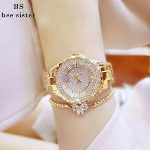 【送料無料】腕時計 ブレスレットファッションラインストーンレディースbs women bracelet watches fashion luxury lady rhinestone wristwatch ladies c