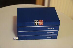 【送料無料】腕時計 ティソティソウォッチボックスtissot uhrenbox watch box 150 jahre tissot mit anleitung rare top zustand