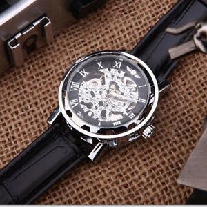 【送料無料】腕時計 スケルトンクラシコメッカニコロpolso orologio senza batteria automatico skeleton uomo classico meccanico kp