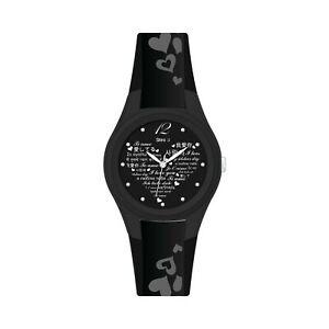 【送料無料】腕時計 リファレンスorologio stroili gomma nero ref 1657751