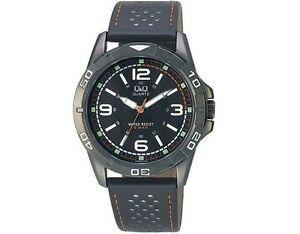 【送料無料】腕時計 メンズスポーツドレスブラックストラップウォッチ