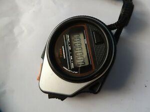 【送料無料】腕時計 ビンテージプラスチックケースクロノグラフクオーツハンドヘルドa vintage plastic cased quartz timex hand held chronograph