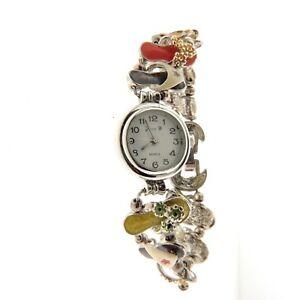 【送料無料】腕時計 エナメルフリップフロップブレスレットジェニーウォッチスライドenamel flip flop watch slide bracelet jennie b 75