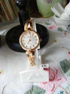 【送料無料】腕時計 ローズクォーツブレスレットドールmontre neuve a quartz metal dore rose bracelet semis rigide