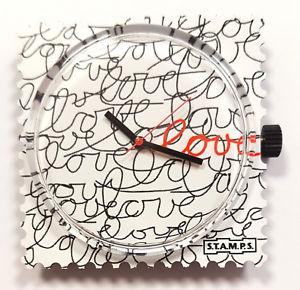 【送料無料】腕時計 ##stamps uhr 034;love love love034;