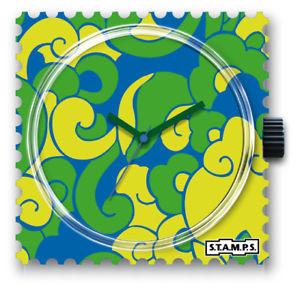 【送料無料】腕時計 スタンプウォッチグリーンカールstamps stamps uhr watch  green curls