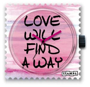 【送料無料】腕時計 スタンプstamps stamps uhr watch  way of love