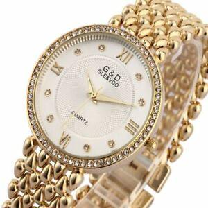 【送料無料】腕時計 クオーツレディースブレスレットドレスリアルオビドスgamp;d women wristwatches quartz watch ladies bracelet watch dress relogio femin