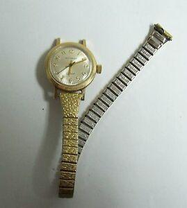 【送料無料】腕時計 ビンテージレディースウィットジュネーブゴールドウォッチvintage ladies wittnauer geneve gold filled watch