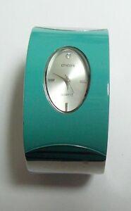 【送料無料】腕時計 アクアヒンジブレスレットクールウォッチcool chicos aqua hinged bracelet watch