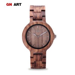 【送料無料】腕時計 クォーツブレスレットウォッチ099 wood watch women wooden watches for quartz watch art creative bracelet