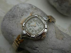 【送料無料】腕時計 レディendura,ancienne montre mecanique suisse dame a rubis des seventies a reviser