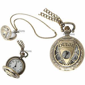 【送料無料】腕時計 ボードカットデザインポケットネックレス