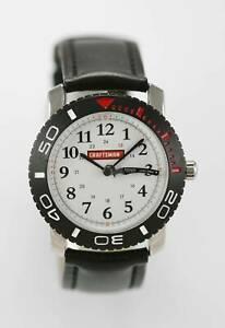 【送料無料】腕時計 メンズブラックシルバーホワイトクオーツステンレス