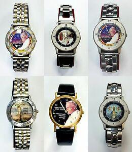 【送料無料】腕時計 メンズステンレススチールウォッチmens religious stainless steel watch