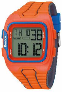 【送料無料】腕時計 リーボックワークアウトメンズデジタルスポーツオレンジウォッチポポオイルreebok workout sz1 mens digital sport watch orange blue rfws1g9popool