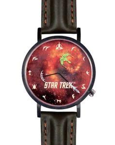 【送料無料】腕時計 クリンゴンスタートレッククリンゴンバードウォッチstar trek klingon bird of prey wrist watch klingon numbers