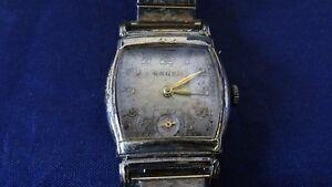 【送料無料】腕時計 ビンテージアールデコマニュアルウォッチvintage art deco gruen 17 jewels manual wind watch