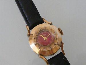 【送料無料】腕時計 ビンテージkゴールド