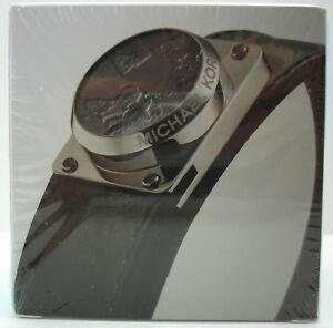 【送料無料】腕時計 ミハエルアクセストラッカーレザーブレスレットブラックシルバー