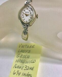 【送料無料】腕時計 ビンテージハンドウインチvintage ladys hand wind wristwatch running