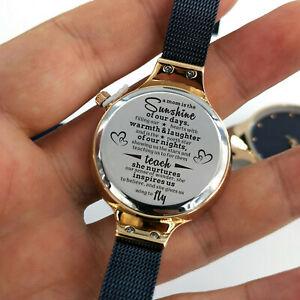 【送料無料】腕時計 カスタマイズカジュアルmom inspire us engraved women luxurious casual quartz wrist watch customized