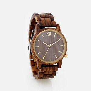 【送料無料】腕時計 カスタムパーソナライズpersonalized engraved wood watch wooden watches wedding custom fathers day gift